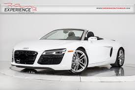 audi r8 spyder convertible used 2014 audi r8 4 2 spyder for sale plainview near island