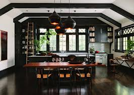 dining room kitchen ideas 43 dramatic black kitchens that make a bold statement