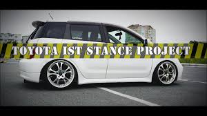toyota ist stance project scion xa stance project youtube