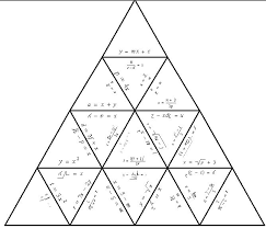 an example of a finished tarsia puzzle