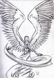 angel wings orig sketch by magiklamp on deviantart