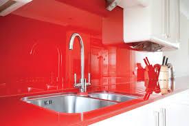 Red Backsplash Kitchen Kitchen Countertops Ideas White Cabinets Playuna