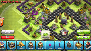 clash of clans unique town hall 9 farming base after halloween