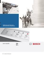 eponge vaisselle avec reservoir bosch sms63m18ff supersilence lave vaisselle 60 cm pose libre