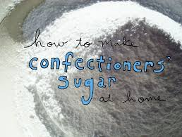how to make confectioners u0027 sugar at home