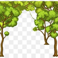 painted tree border vector png branch branches