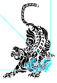 mayan leopard tribal by liger inuzuka on deviantart