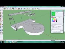 google sketchup stage design x4 speed youtube