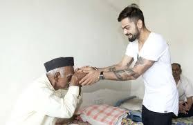 kohli shows his charitable side in pune cricket com au