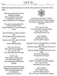 freebie let it go a simile and metaphor worksheet by learning lane