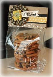 cookie packaging idea think im going to do baked goods for