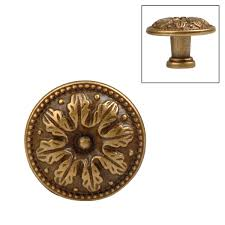 vintage kitchen cabinet hinges classic hardware 10051 vintage louis xvi brass round knob at atg