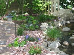 redoing flower beds would love to use rock instead of mulch love