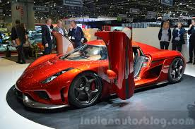 red koenigsegg regera koenigsegg regera side at the 2016 geneva motor show live indian