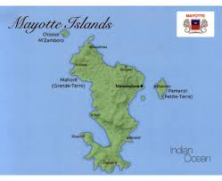 africa map islands maps of mayotte island detailed map of mayotte island in