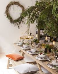modern table settings modern christmas table setting ideas christmas celebration