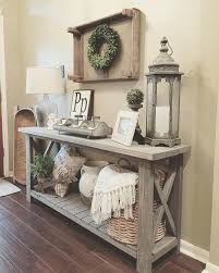 decorating sofa tables living room decor rustic farmhouse style