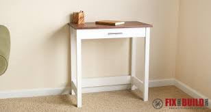Desk Diy Plans Diy Writing Desk Fixthisbuildthat