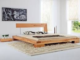 Solid Wood Contemporary Bedroom Furniture - bed wood modern adorable 3324727a5edc42b9de855915c25804ac