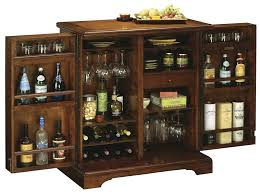 695116 howard miller americana cherry portable wine and bar cabinet