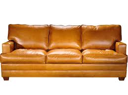 Custom Leather Sofas Elite Leather Living Room Track Arm Leather Sofa In Stock Or