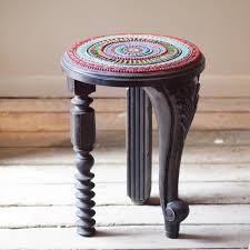 Mosaic Accent Table Remarkable Mosaic Accent Table Suzani Mosaic Side Table In Black