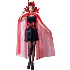 Halloween Costume Cape Totally Ghoul Devil Cape Dress Women U0027s Halloween Costume Size
