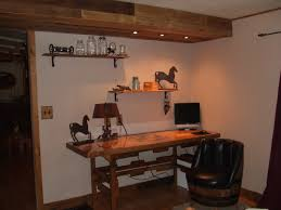 Shelves From Pallets by Desk Shelves Soffit Wall Trim Base Boards All Built From