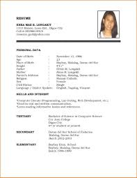 Resume Templates Microsoft Word by Adorable Personal Resume Templates Trainer Template Microsoft Word