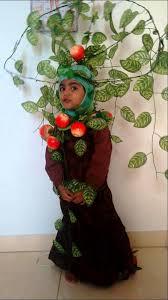 home made tree costume naifah fathima