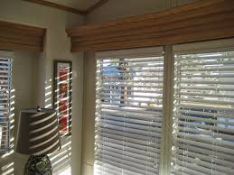 2 inch faux wood blinds white lowes 23in w x 72in l walnut faux
