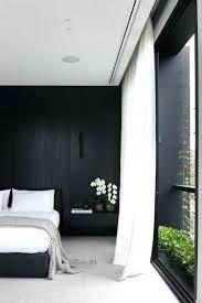 Black Curtains For Bedroom Black Bedroom Curtains Betweenthepages Club