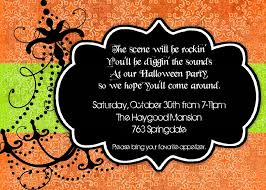 Classic Halloween Poems Exciting Good Halloween Party Invites Features Party Dress 38