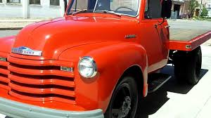 Classic Chevrolet Lifted Trucks - 1951 chevrolet dually flatbed for sale youtube