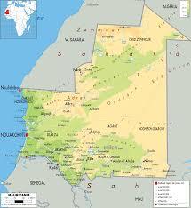 Vigo Spain Map by Map Of Mauritania Joao Leitao Travel