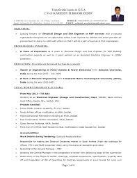 Ksa Resume Examples by Download Electrical Engineer Resume Haadyaooverbayresort Com