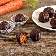 carrot cake truffles paleo gluten free dairy free vegan