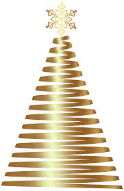 gold deco christmas tree clip art png image gallery