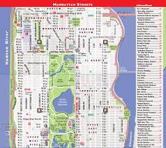 Map Of New York Subway With Streets by Streetsmart Nyc Midtown Manhattan Map By Vandam Laminated