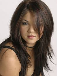 haircut for round face and long hair 17 best haircuts for round faces