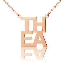 gold plated necklace with name gold lindsay name necklace