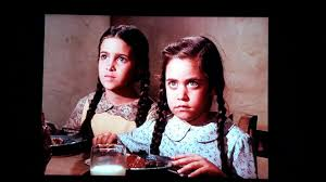 little house on the prairie images carrie and cassandra in