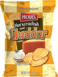 Ripple Chips Herr U0027s 7 0 8 0 Oz Assorted Unique Flavored Potato Chips 12