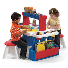 learning desk for creative projects table kids art desk step2