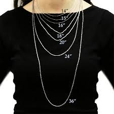 men necklace sizes images Necklace lengths men la necklace jpg