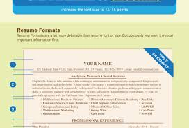 Best Resume Header F by Font Size Resume Standard Format For Writing A Resume Majestic