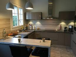 cuisine avec transformation de cuisine avec verrière atelier à lagord près de