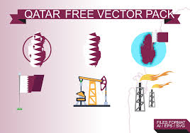 Picture Of Qatar Flag Qatar Flag Free Vector Art 2637 Free Downloads