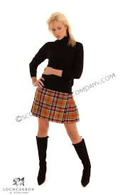 womens kilted skirts the scottish trading company