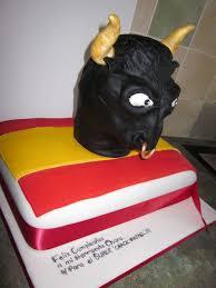 spanish themed cake u2026bull head sandjfoods